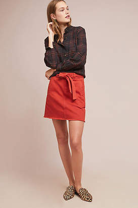Pilcro and the Letterpress Pilcro Belted Mini Skirt