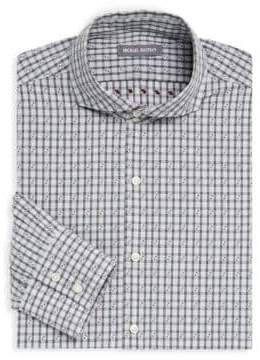 Michael Bastian Checkered Cotton Dress Shirt