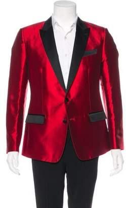 Dolce & Gabbana Silk Blend Tuxedo Blazer w/ Tags