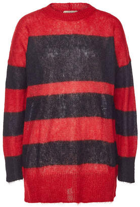 N°21 N21 Knit Pullover with Mohair and Wool