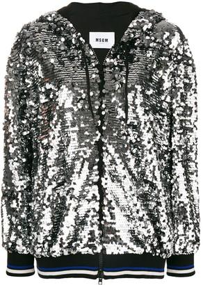 ac1bc8567 Womens Metallic Hooded Jacket - ShopStyle UK