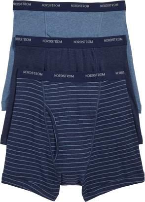 Nordstrom 3-Pack Supima(R) Cotton Boxer Briefs