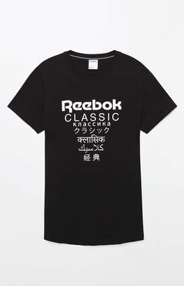Reebok GP Extended Length Black T-Shirt