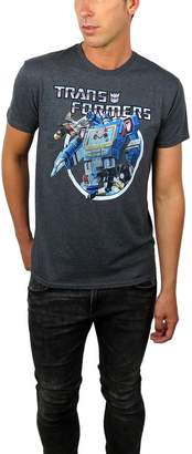 Freeze Transformers Mens Vintage Transformers Graphic Tee