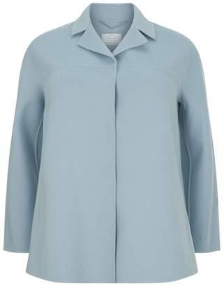 Marina Rinaldi Double-Layer Wool and Cashmere Jacket