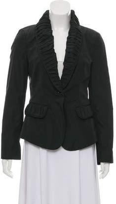 Burberry Nylon Shawl Collar Blazer