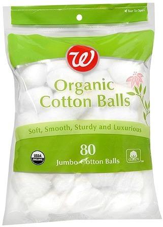 Walgreens Organic Cotton Balls Jumbo