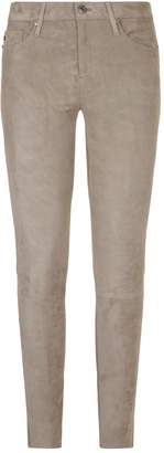 AG Jeans The Legging Ankle Suede Jeans