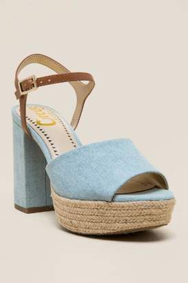 Circus Nakita Platform Block Heel - Light Blue