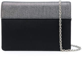 Rodo panelled clutch bag