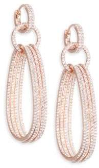 Adriana Orsini Holiday Ear Huggy Drop Earrings