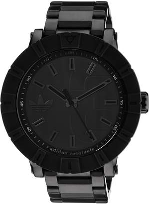 adidas Men's ADH3002 Amsterdam Black Stainless Steel Bracelet Watch