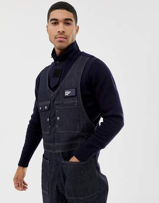 G Star G-Star utility loose overalls