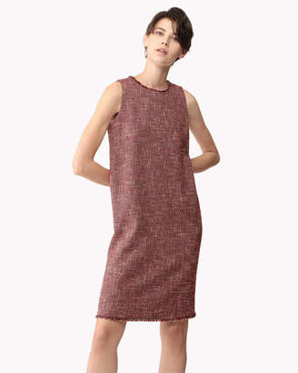 Theory (セオリー) - 【Theory】Basket Tweed Shift Dress F