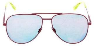 Saint Laurent Classic 11 Mirrored Sunglasses