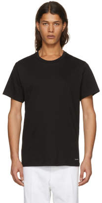 Calvin Klein Underwear Three-Pack Black Crewneck T-Shirt