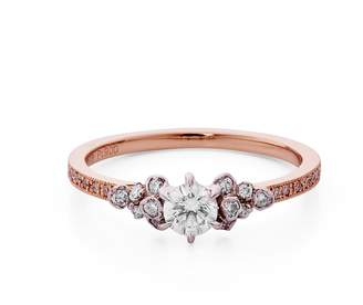 Kataoka Solitaire Cluster Ring