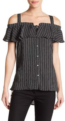Romeo & Juliet Couture Striped Popover Top