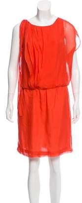 Robert Rodriguez Silk Mini Dress