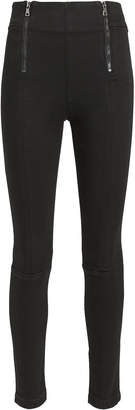 Frame Double Zip Skinny Jeans