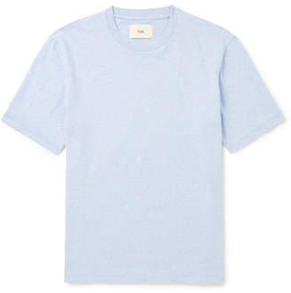 Folk Mélange Cotton-Jersey T-Shirt