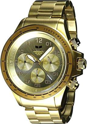 Vestal Unisex ZR2009 ZR-2 Stainless Steel Brushed-Gold Watch