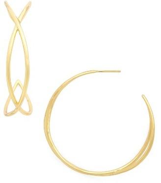 Women's Gorjana Autumn Hoop Earrings $65 thestylecure.com