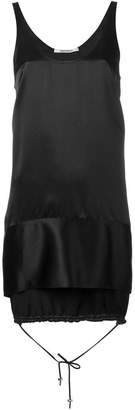 Paco Rabanne sleeveless drawstring hem dress