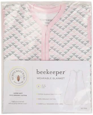 Burt's Bees Chevron Bee Beekeeper Wearable Blanket