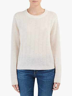 360 Sweater Brooke Cashmere Jumper, White