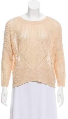 Demy Lee Open Knit Sweater