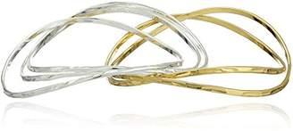 Robert Lee Morris Two-Tone Bangle Bracelet