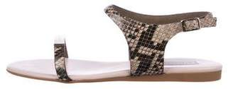 Stella McCartney Vegan Embossed Ankle Strap w/ Tags