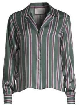 Alexis Samwell Striped Button Shirt