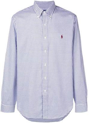 Polo Ralph Lauren checked print shirt