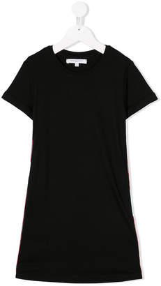 Givenchy Kids contrasting panels T-shirt dress