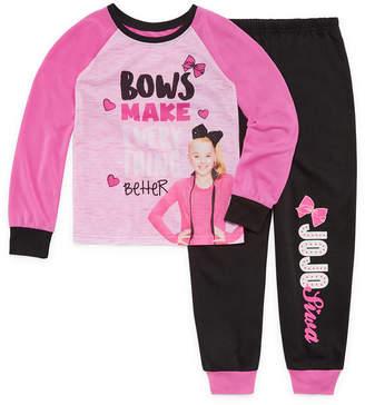 Jo-Jo JOJO JoJo 2pc Pajama Set Girls