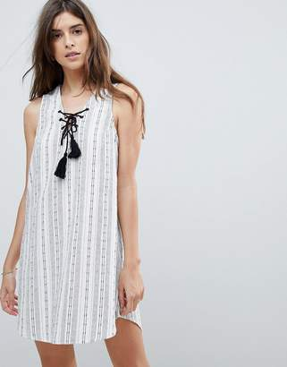 rhythm Beach Panama Stripe Dress