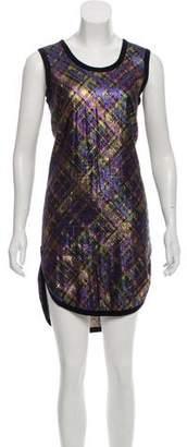 Marc Jacobs Brocade Knee-Length Dress
