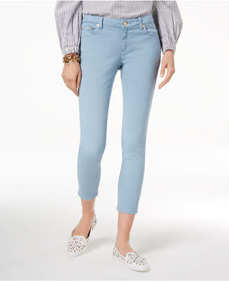 Michael Kors MICHAEL Izzy Skinny Ankle Jeans in Regular & Petite Sizes, Created for Macy's