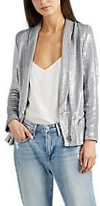 Women's Hadley Sequined Jacket - Silver Size 40 Fr