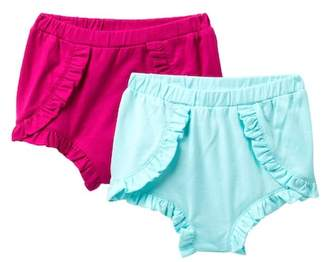 Joe Fresh Ruffle Trim Bloomers - Set of 2 (Baby Girls)