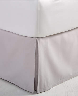Hotel Collection Closeout! Cotton Ladder Stitch Pique California King Bedskirt, Created for Macy's Bedding