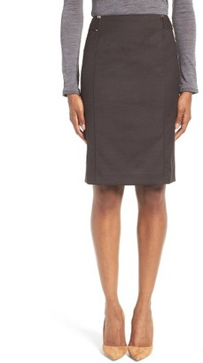 Women's Boss Vobina Wool Suit Skirt $295 thestylecure.com