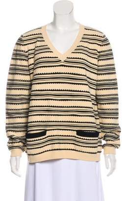 Marni Abstract Pattern Sweater Beige Abstract Pattern Sweater