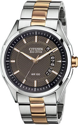 Citizen Men's Drive from Eco-Drive Two-Tone Stainless Steel Bracelet Watch 40mm AW1146-55H