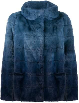 Simonetta Ravizza Cannes faux fur jacket