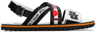 Dolce & Gabbana Mediterraneo Line printed sandals