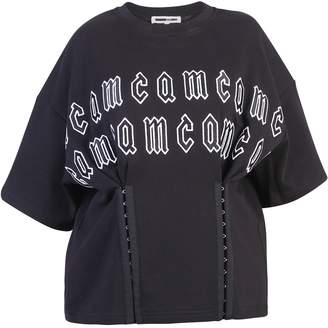 McQ Black Branded T-shirt