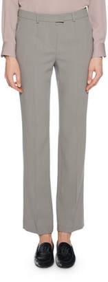 Giorgio Armani Mid-Rise Classic Virgin Wool Pants